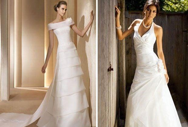 Brautkleid-Ausschnitte - so sorgst du für ein Top Dekolletè ...