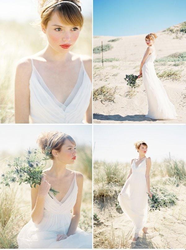 Feenhafte Brautkleider von Saja Wedding fotografiert von Jose Villa ...