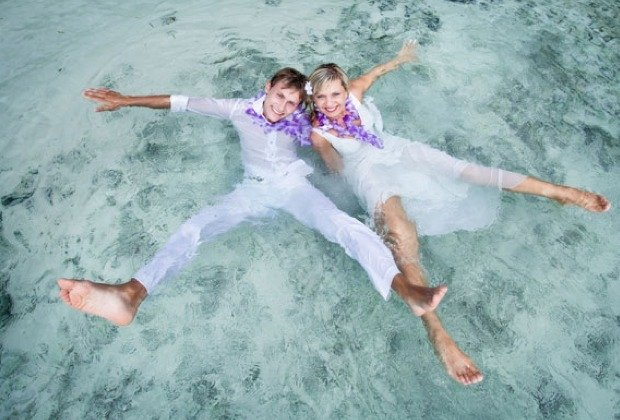 Inna und Andrej – After-Wedding-Shooting im Paradies