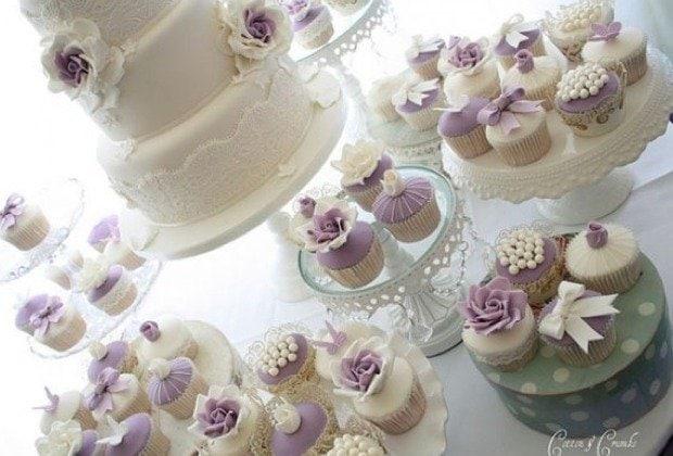 Hochzeitstorte Vintage Grün : Die Torten und Cupcakes von Cotton ...