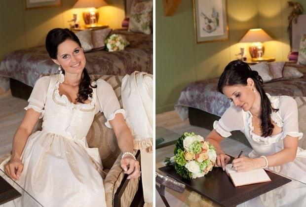 Susanne Spatt, Brautdirndl und Hochzeitsdirndl, Hochzeitstracht