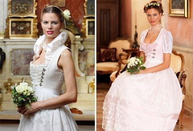 Krueger, Hochzeitsdirndl und Brautdirndl, Hochzeitstracht