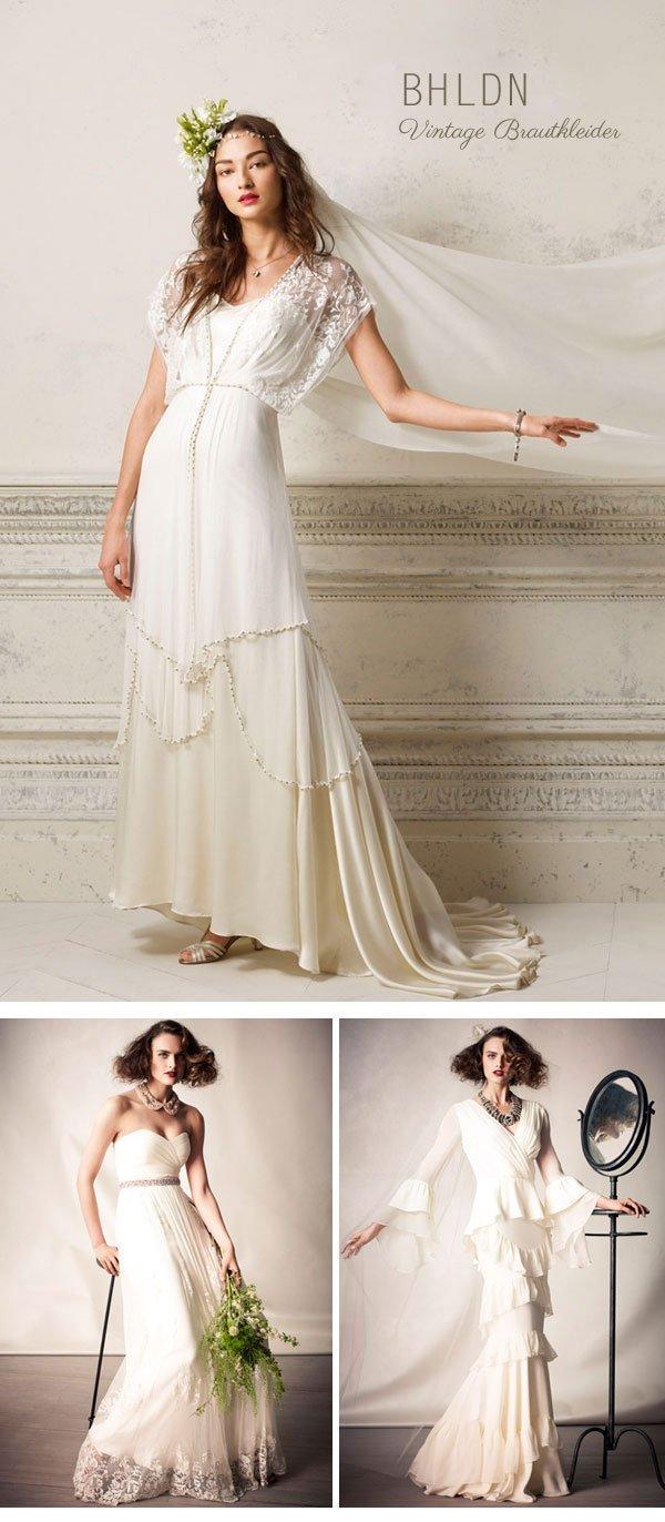 BHLDN, Vintage Brautmode Onlineshop - Hochzeitsguide