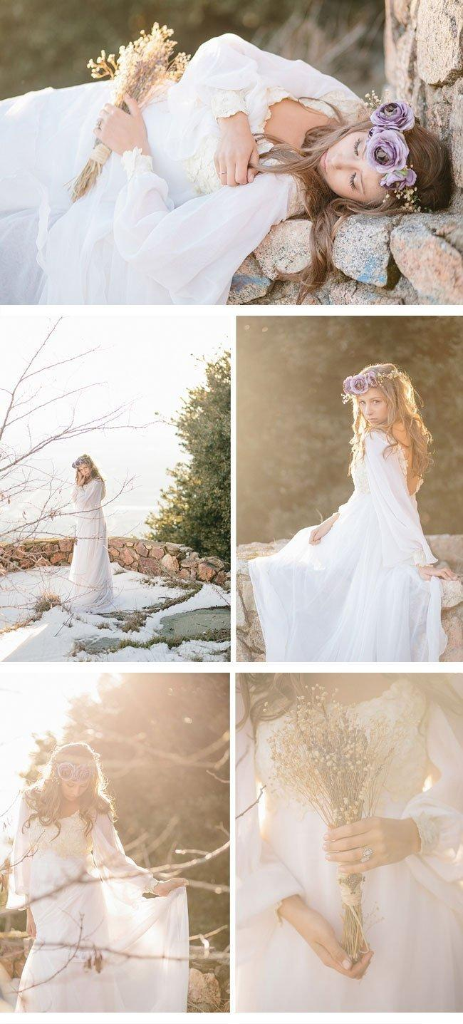 bohemian winter bride1 bohemian brautkleid