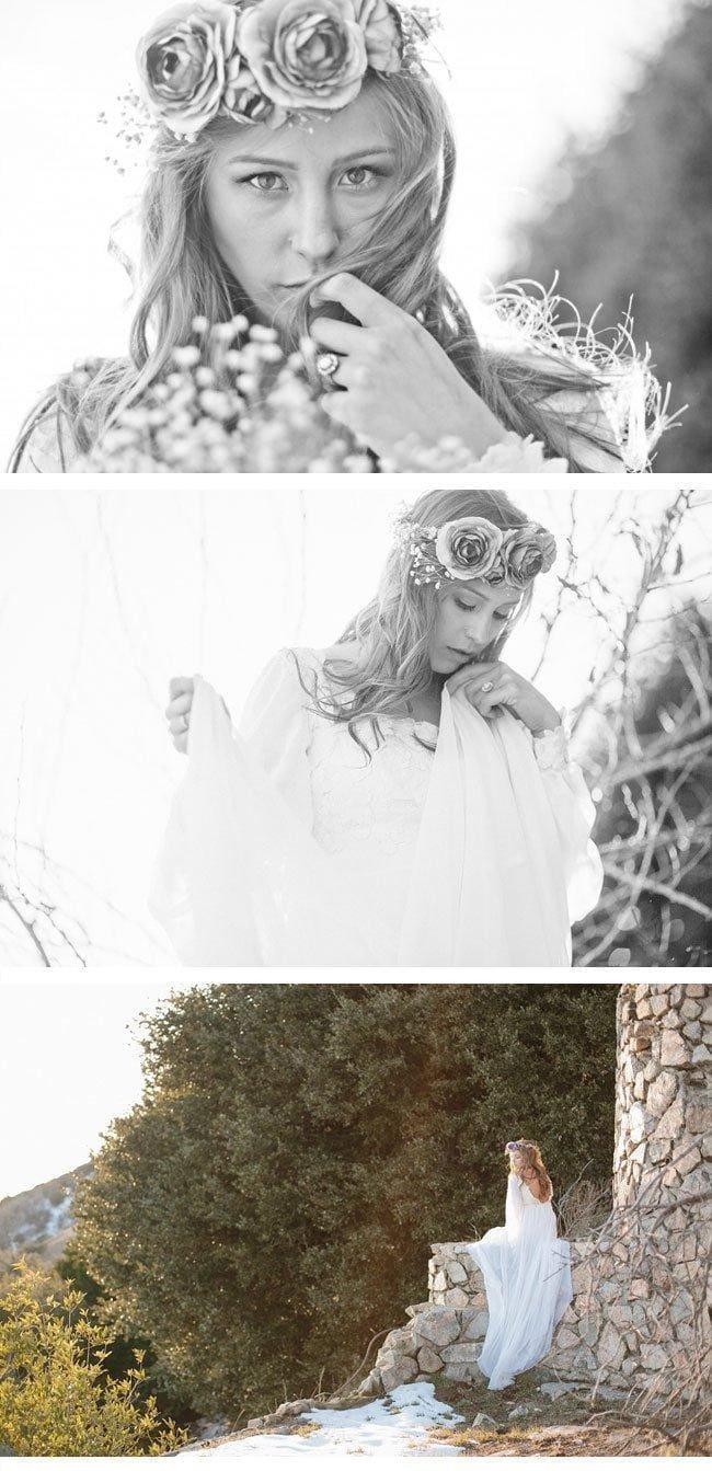 bohemian winter bride3 bridal make-up