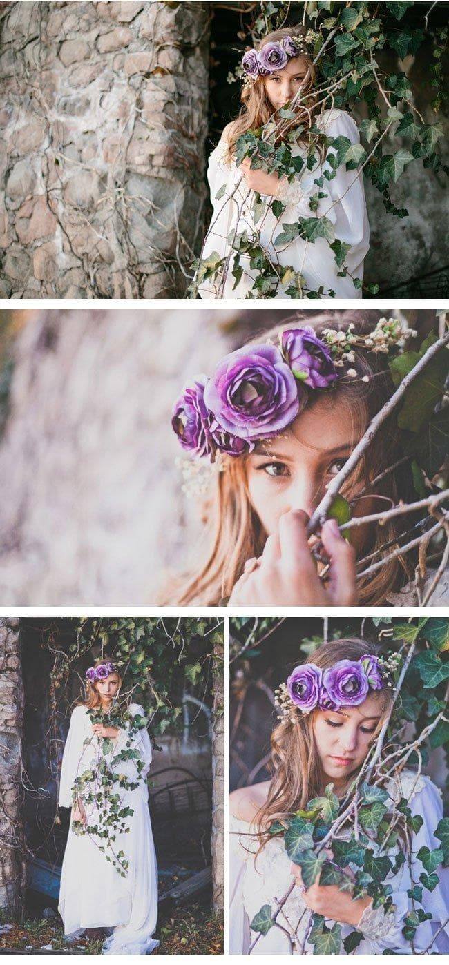bohemian winter bride9 bohemianstyle