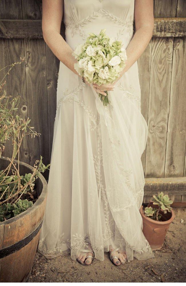 bev17 vintage bridal dress