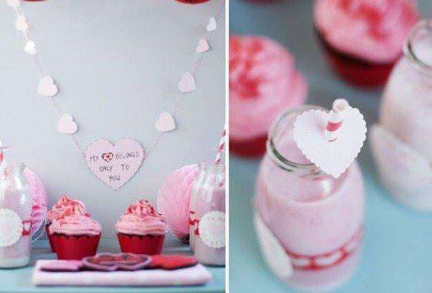 valentinstag diy sweet table hochzeitsguide. Black Bedroom Furniture Sets. Home Design Ideas