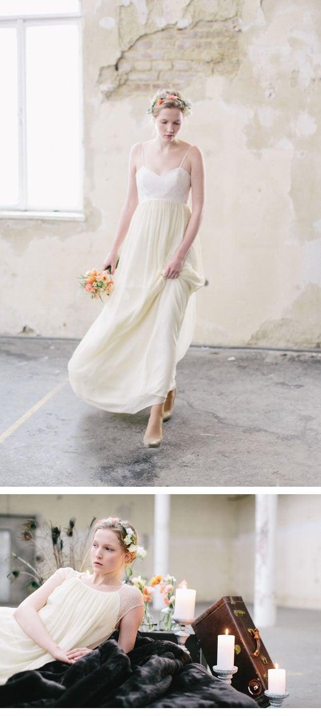 Vintage-Brautkleider von Elfenkleid mit Carmen and Ingo Photography ...