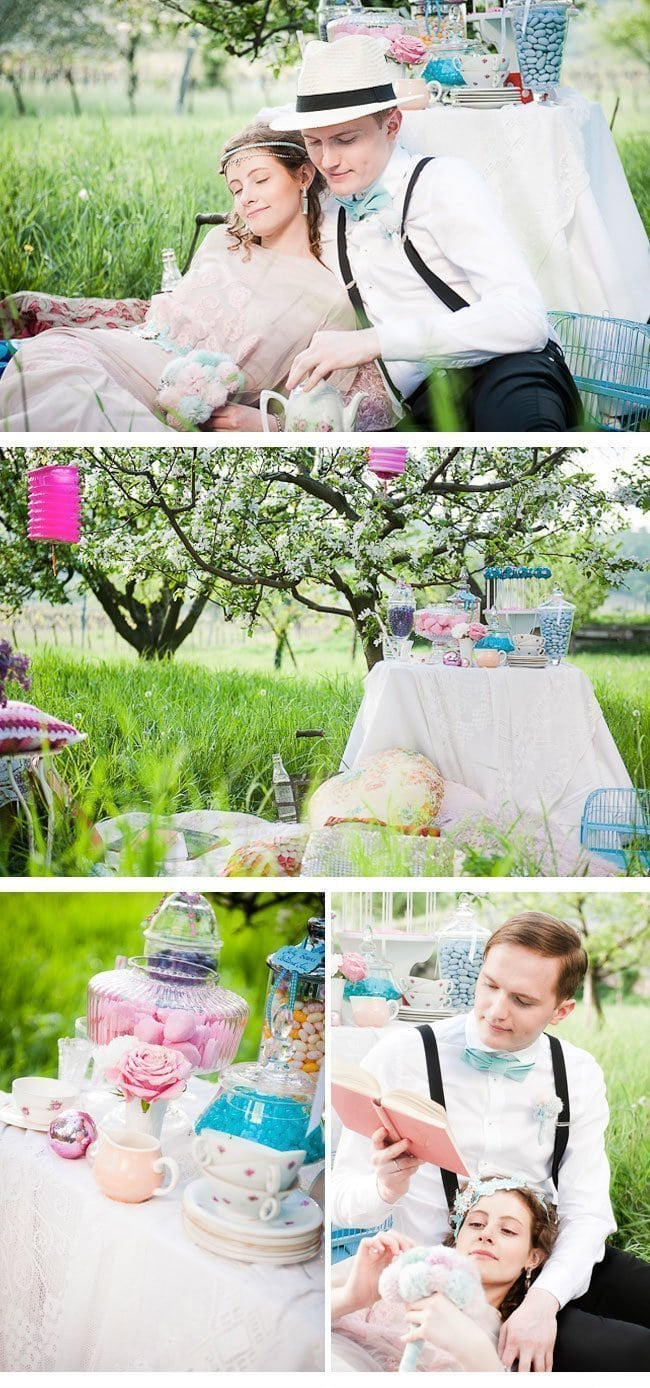 wedding picknick1-vintage styled shoot