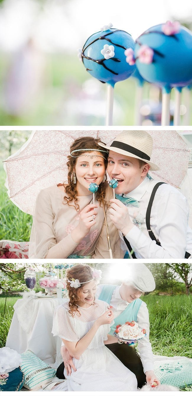 wedding picknick3-vintage styled shoot