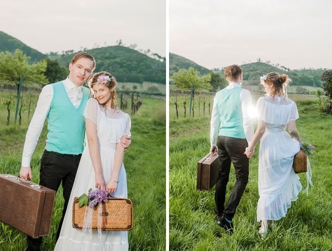 wedding picknick9-vintage styled shoot