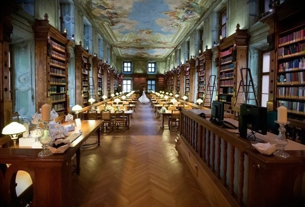 Austrian National Library Reading Room