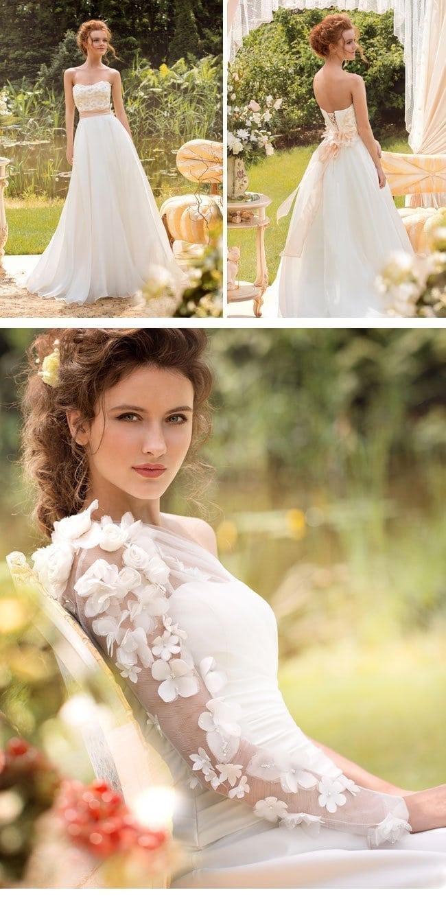 Großartig Fallen 2014 Brautkleider Fotos - Brautkleider Ideen ...