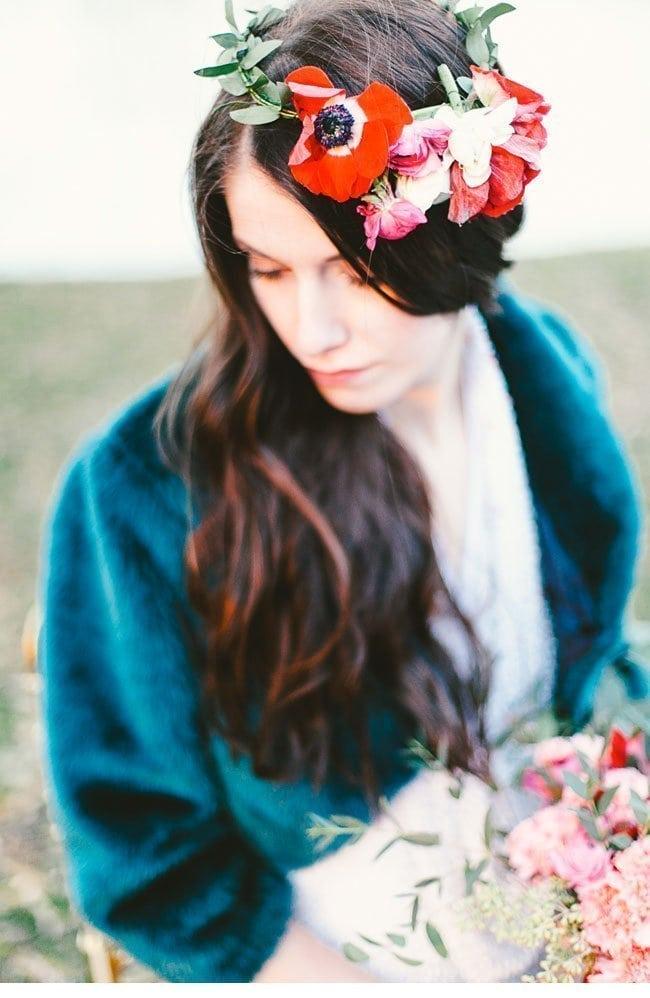 whimsical autumn1-blumen haarkranz