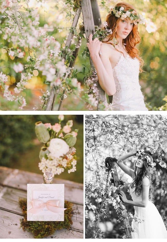 enchanted garden8-Spring Wedding Hochzeit im Frühling