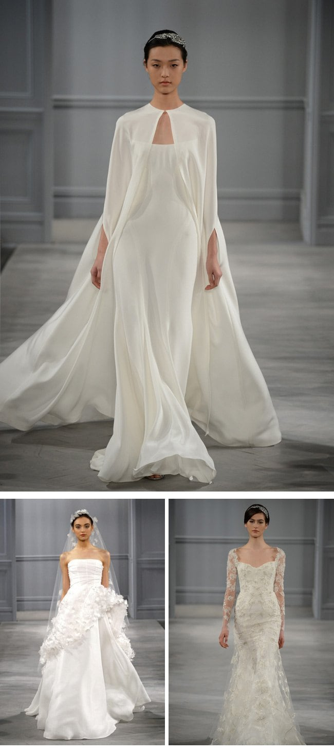 Monique Lhuillier Bridal Collection Spring 2014
