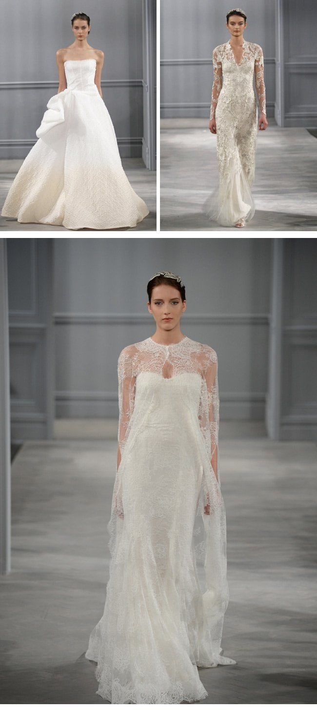 monique lhuillier spring2014-4-wedding dresses