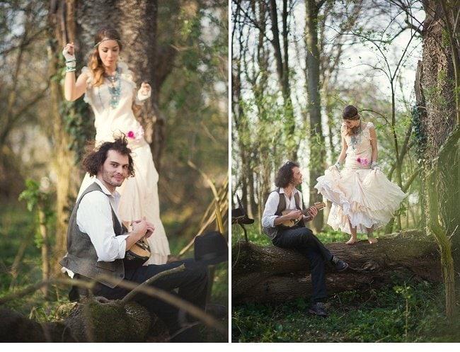 gipsy wedding boho style 0021
