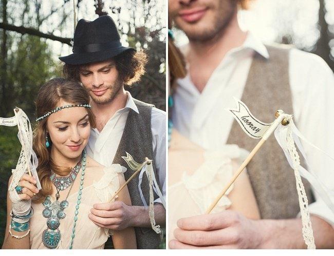 gipsy wedding boho style 0026