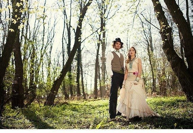 gipsy wedding boho style 0032