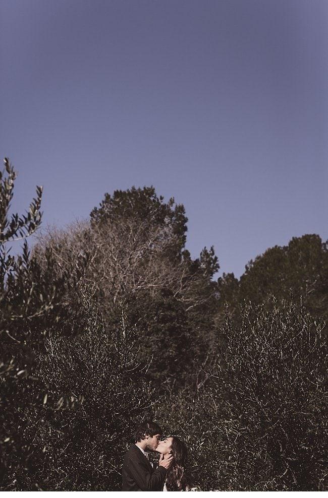 mediterranean forest wedding shoot 0011