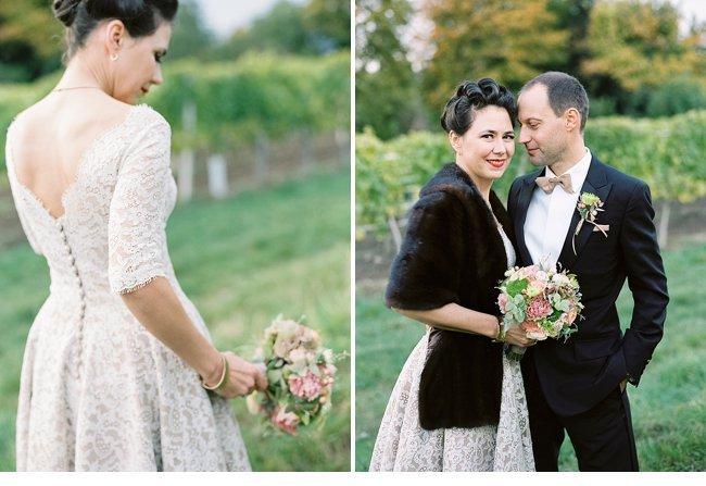Viennese Autumn Wedding 50s Style 0032