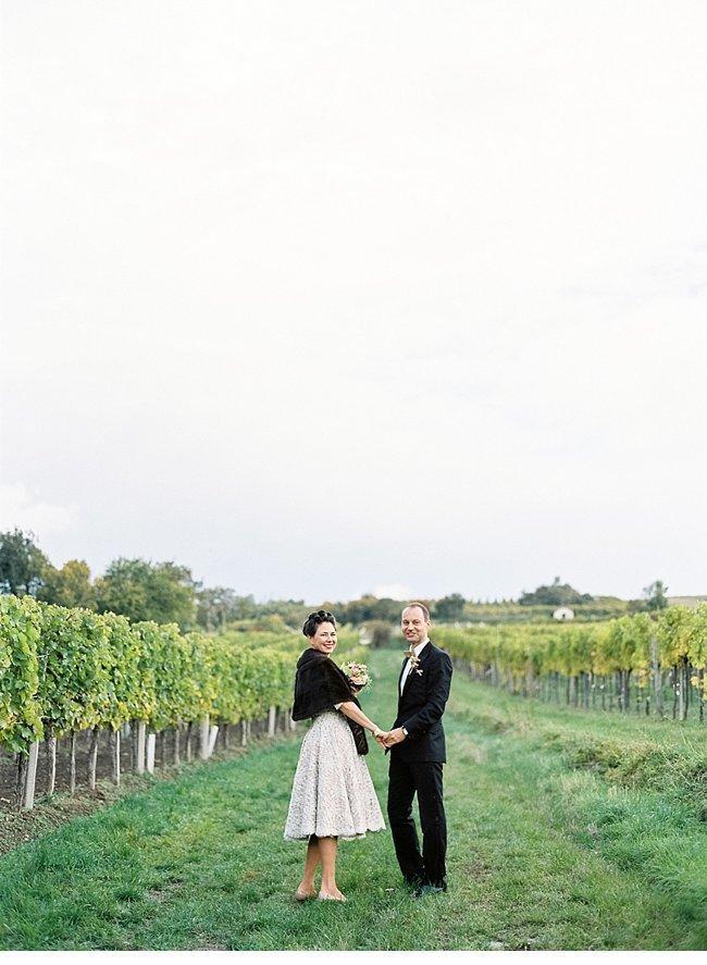 Viennese Autumn Wedding 50s Style 0035