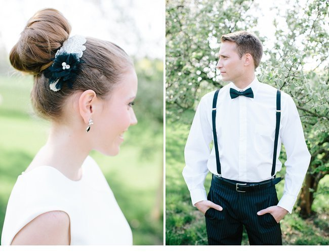black white wedding inspiration 0003