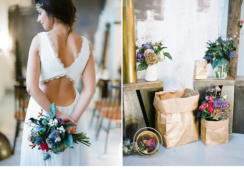 industrial loft wedding inspiration 0016