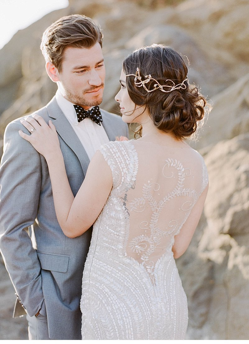 elegant beach wedding inspiration 0007