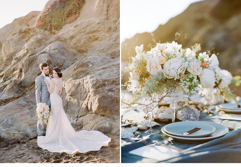 elegant beach wedding inspiration 0017