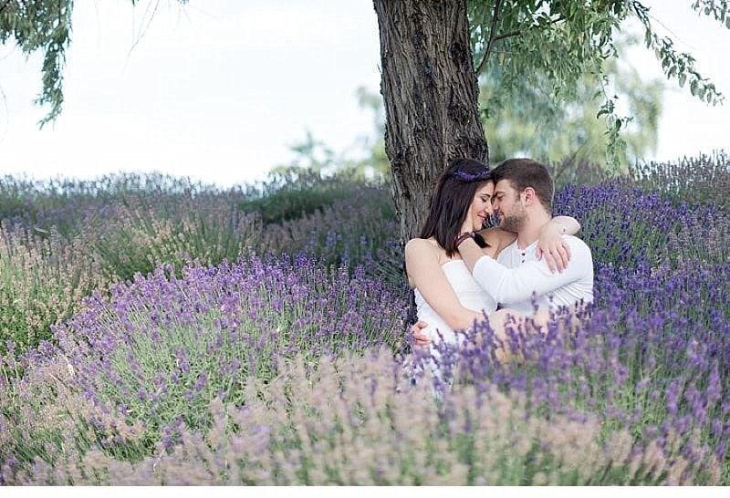 Cansu Onur engagement Lavendelfeld 0020