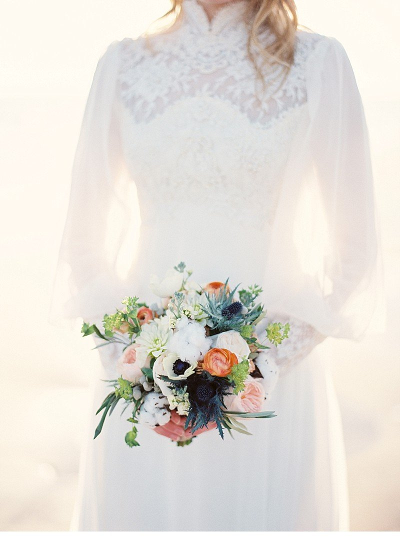sea sand bridal wedding inspiration 0030