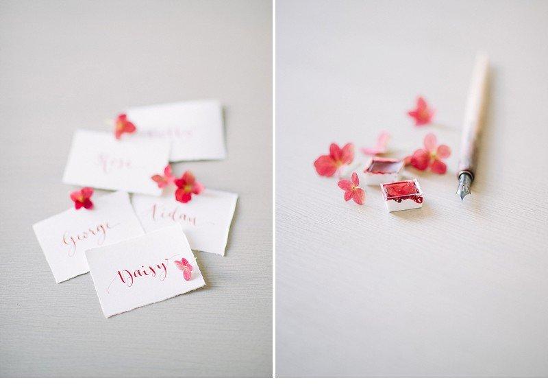 calligraphy wedding invitation 0002