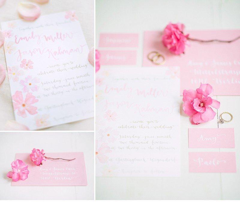 calligraphy wedding invitation 0009