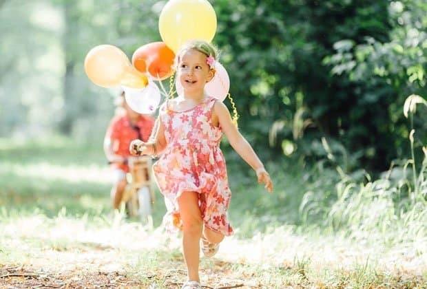 Fröhlicher Kindergeburtstag im Schlosspark Laxenburg