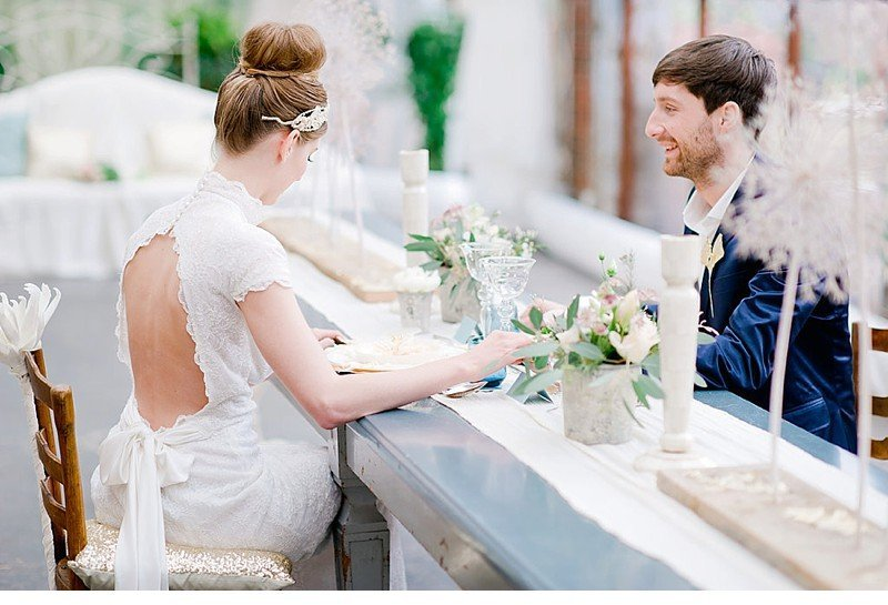 organic gliiter wedding inspiration 0015