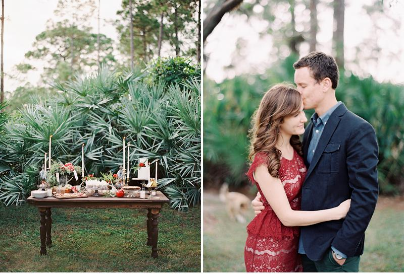 winter inspired engagment party 0002