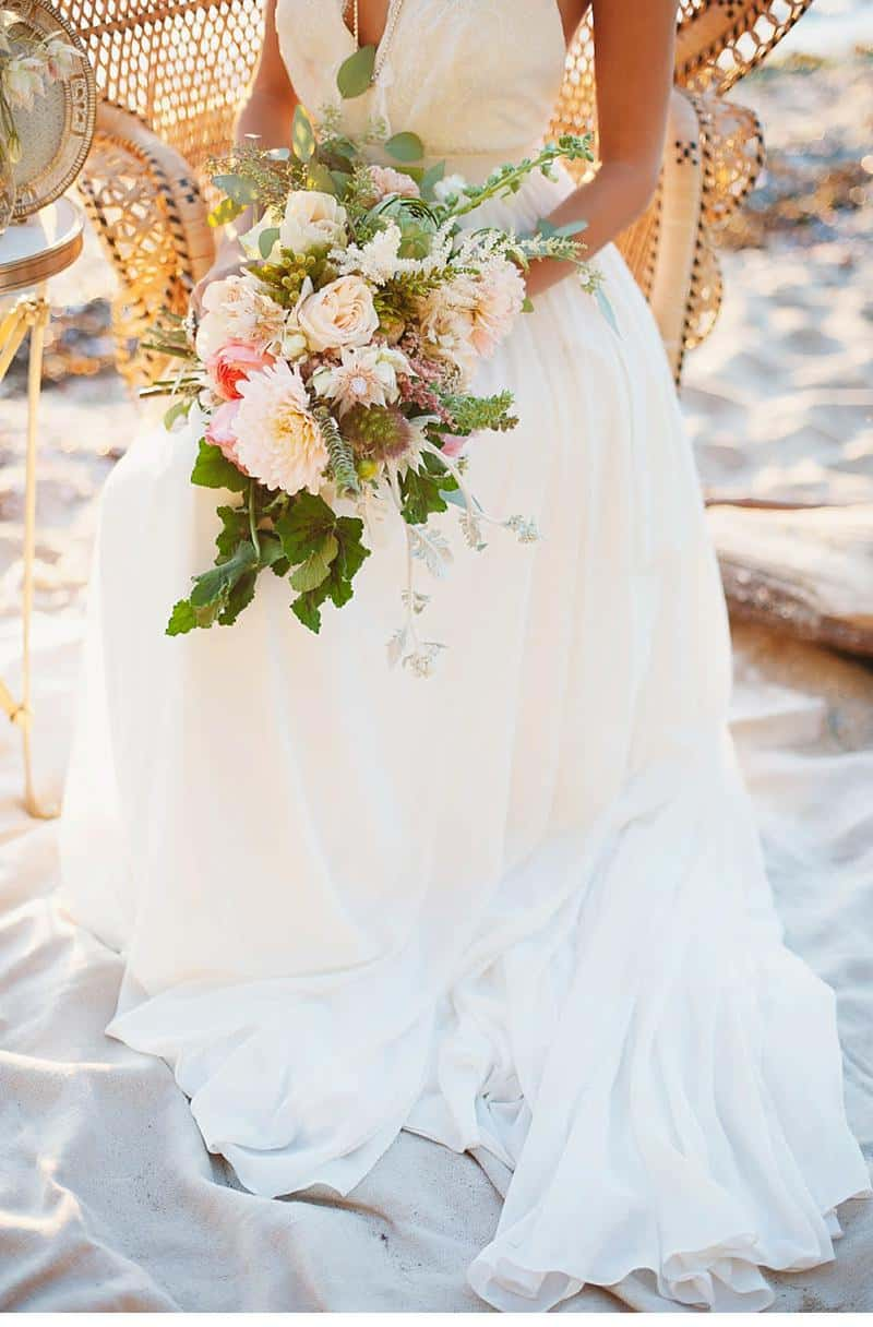boho beach wedding inspiration 0006