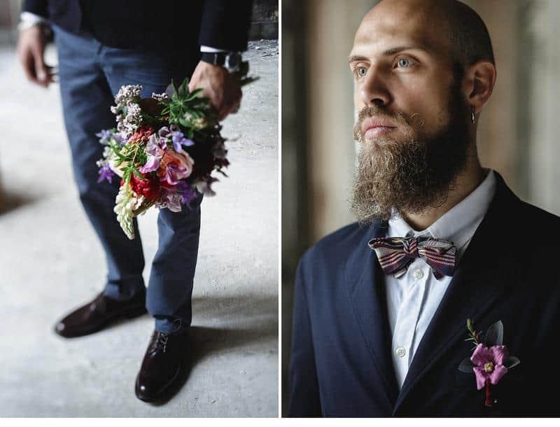 flowers and bones wedding inspirations 0012