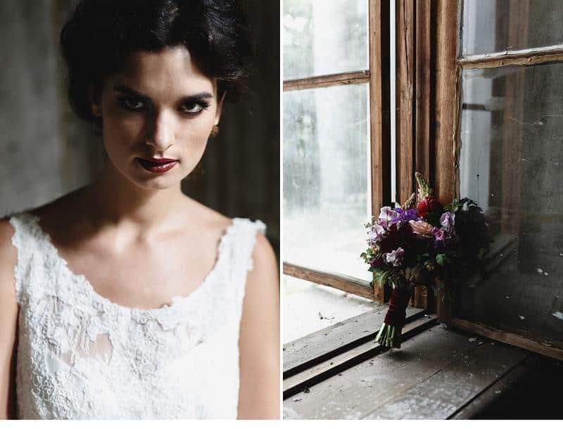 flowers and bones wedding inspirations 0027