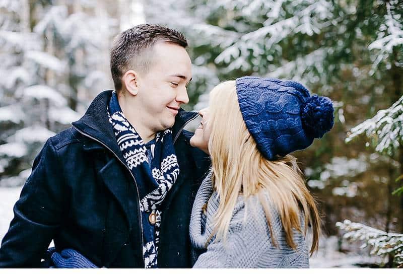 engagement im schnee 0003