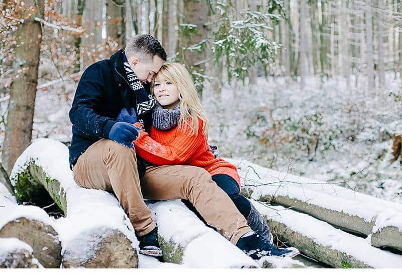engagement im schnee 0009