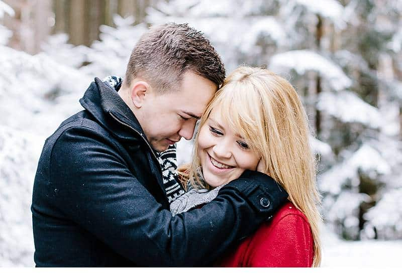 engagement im schnee 0017