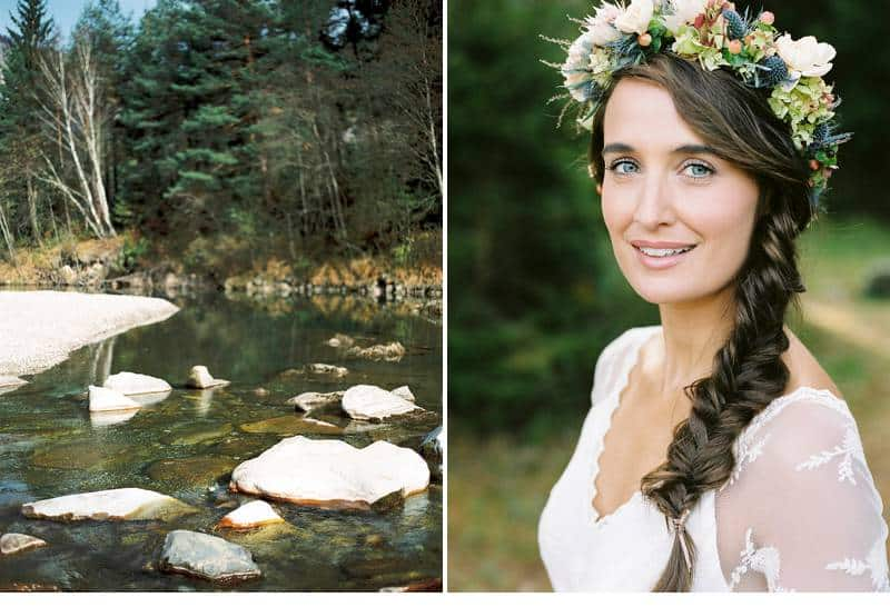 natural bridal shoot carinthia 0005