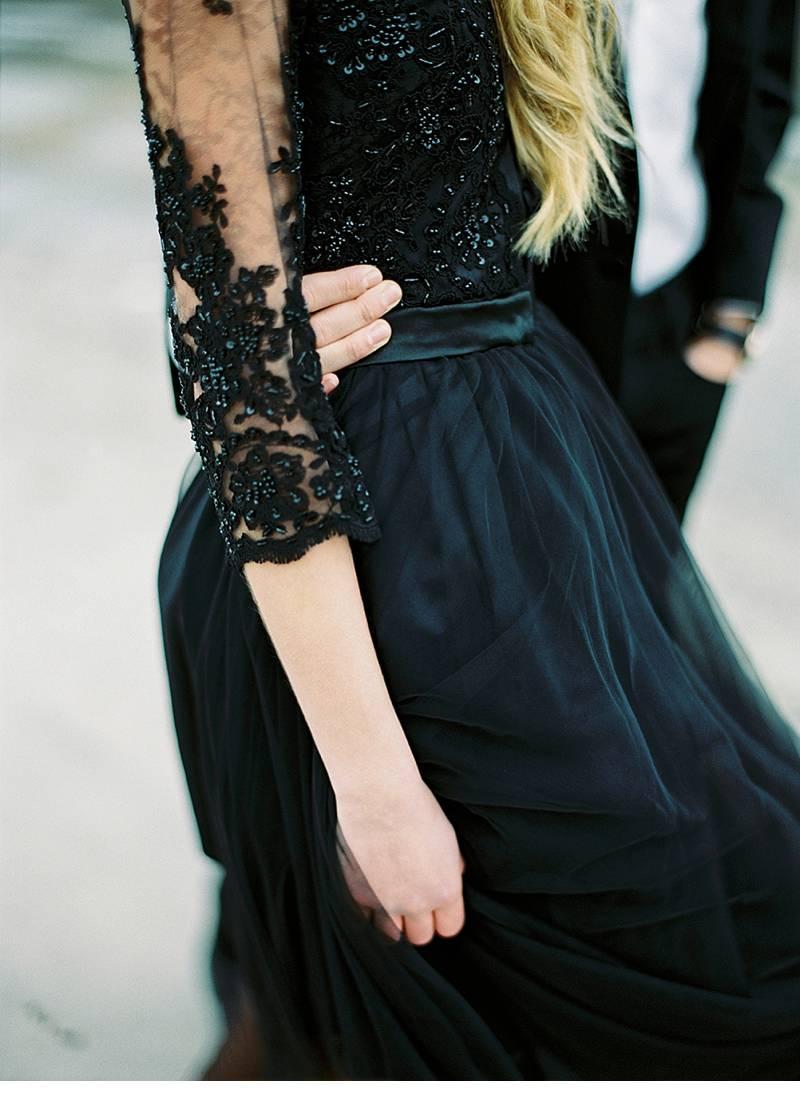 black beauty schwarze hochzeitsinspirationen 0011