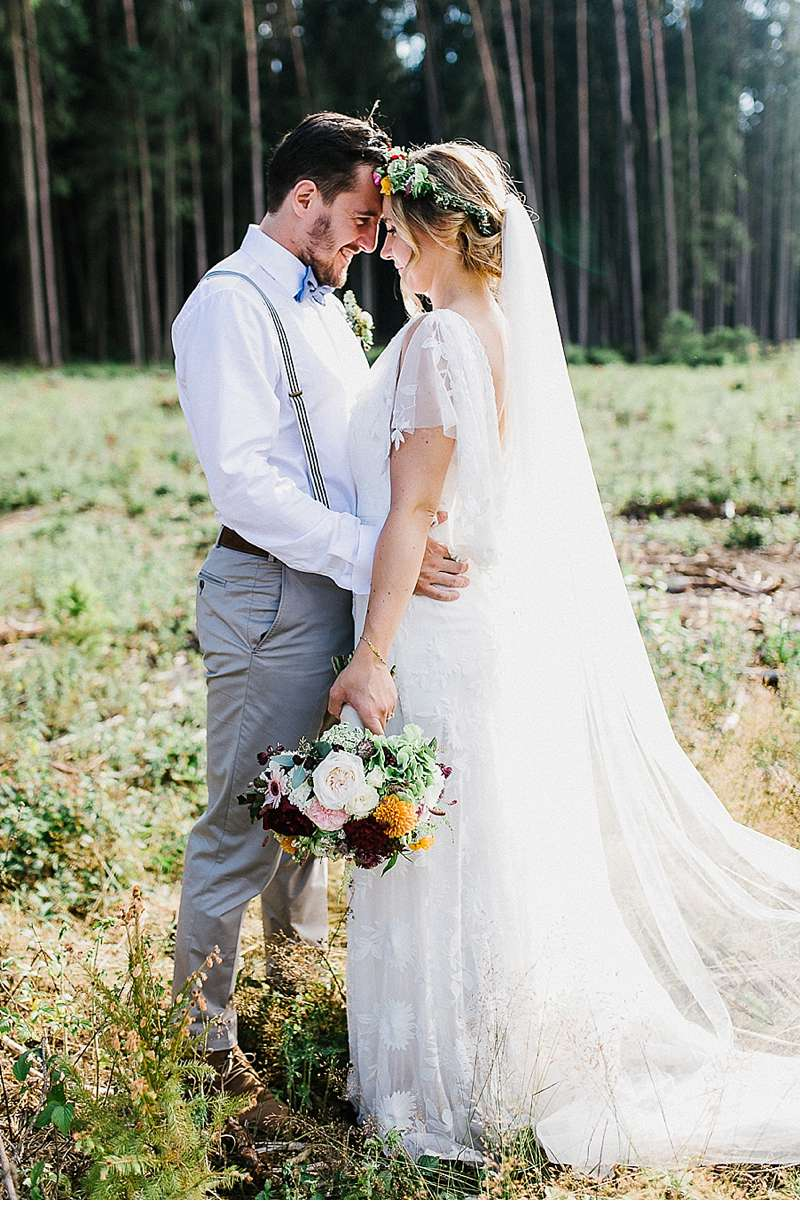 Martina and Jean Francois, Rustic-Bohemain wedding by Julia & Gil ...