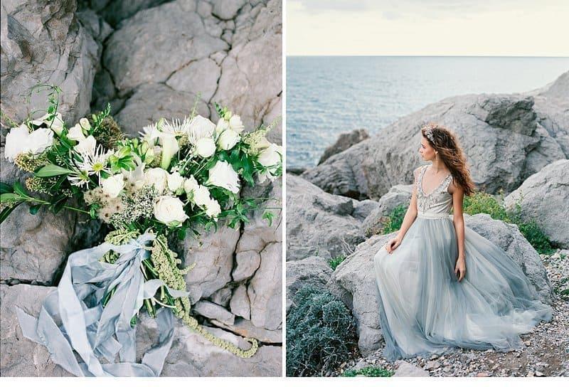 graceful ocean bridal inspiration by malvisa frolova. Black Bedroom Furniture Sets. Home Design Ideas