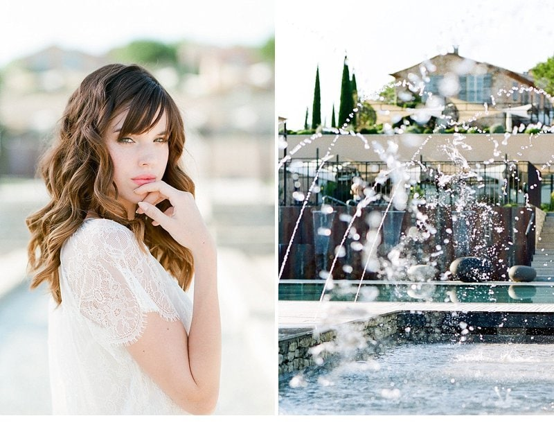Provence Engagement At The Pool